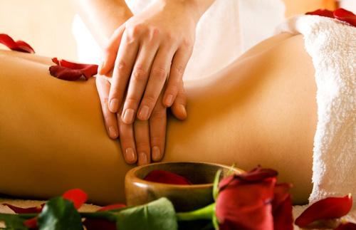 med. Massagen